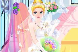 公主婚礼前美容