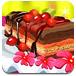 方块樱桃蛋糕