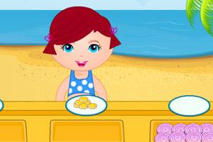 沙滩儿童餐厅