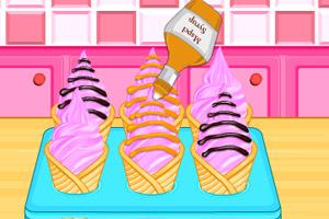 蛋卷冰淇淋蛋糕制作机