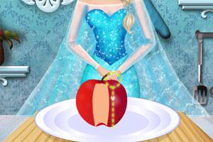 艾尔莎做苹果派